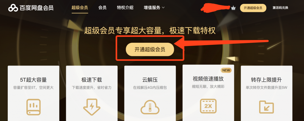 Baidu Pan Premium Account