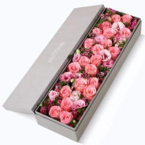 21 x Diana Rose to China